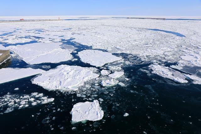 オホーツク流氷