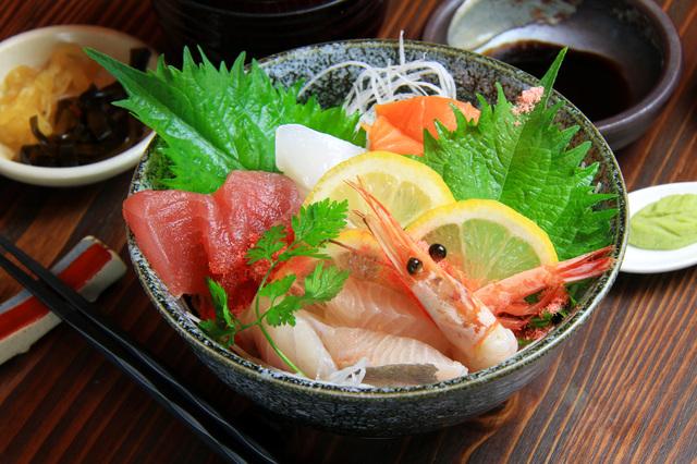 グルメ 海鮮丼